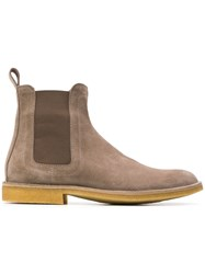 Bottega Veneta Chelsea Boots Nude And Neutrals