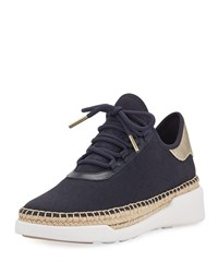 Michael Michael Kors Finch Lace Up Wedge Espadrille Sneakers Admiral