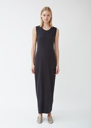 Raquel Allegra Maxi Jersey Dress Black