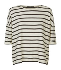 Set Striped T Shirt Female White