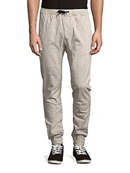 Zanerobe Speckle Print Jogger Pants Taupe