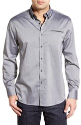 Men's Zagiri 'Toy Soldier' Regular Fit Dobby Sport Shirt