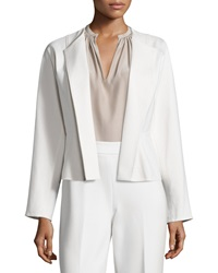 Josie Natori Double Knit Short Jacket