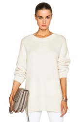 Mason By Michelle Mason Oversized Sweater In White