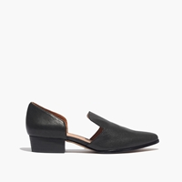 Madewell The Vivian D'orsay Loafer True Black