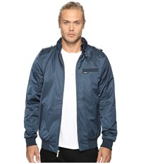 Members Only Modern Iconic Racer Jacket Blue Men's Coat