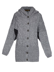 Vivienne Westwood Mud Oversized Hooded Knit Cardigan