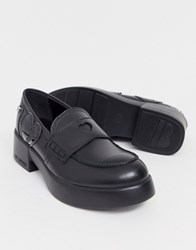 Love Moschino Chunky Loafers Black