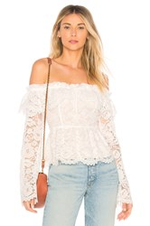 Stone_Cold_Fox Wilshire Blouse White