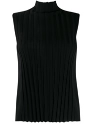 Vince Roll Neck Striped Tank Top 60