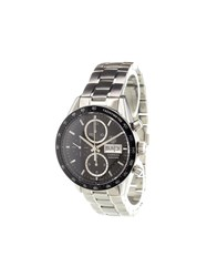 Tag Heuer 'Carrera Calibre 16' Analog Watch Stainless Steel