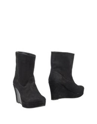 Fifth Avenue Shoe Repair Ankle Boots Black