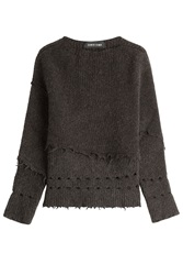 Damir Doma Knit Top With Wool And Alpaca Brown