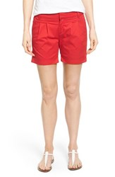Women's Kut From The Kloth 'Julia' Pleat Front Cotton Shorts