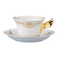 Versace 25Th Anniversary Medusa Gala Teacup And Saucer Limited Edition