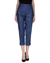 Piazza Sempione Denim Denim Trousers Women