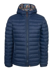 Pretty Green Men's Pembrook Quilted Jacket Navy