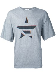 Converse Tokyo One Star Print T Shirt Men Cotton 00 Grey