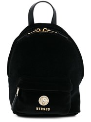 Versus Logo Mini Backpack Black