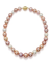 Bloomingdale's Cultured Freshwater And Natural Multi Color Ming Pearl Necklace 18