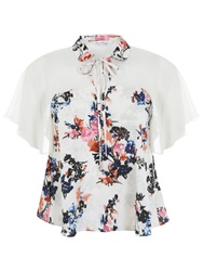 Miss Selfridge Assorted Keyhole Angel Blouse Assorted