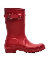 Hunter Original Short Rain Boot Red
