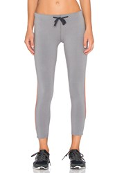 James Perse Yosemite Stripe Yoga Pant Gray