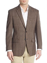 Lauren Ralph Lauren Regular Fit Wool Sportcoat Light Brown