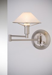 Holtkoetter 9426 Swing Arm Wall Sconce Silver