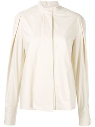Christophe Lemaire Puff Sleeve Shirt 60