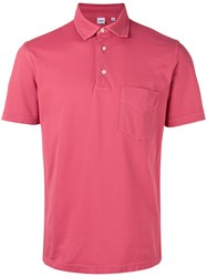 Aspesi Classic Polo Shirt Men Cotton Xxxl Pink Purple