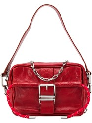 Zadig And Voltaire Johnny Crush Shoulder Bag Red