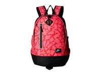 Nike Young Athletes Cheyenne Print Backpack Hyper Pink Black Metallic Silver Backpack Bags