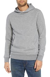 Treasure And Bond Regular Fit French Terry Pullover Hoodie Grey Heather