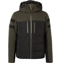 Fusalp Albinen Quilted Shell Hooded Down Ski Jacket Green