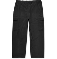 Junya Watanabe Canvas Cargo Trousers Black