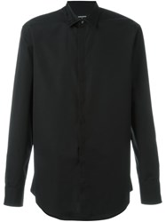 Dsquared2 Pin Detail Collar Shirt Black
