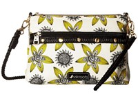 Sakroots Artist Circle Campus Mini Sunshine Spirit Desert Cross Body Handbags Yellow