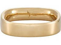 Suzanne Felsen Men's Square Union Band Gold