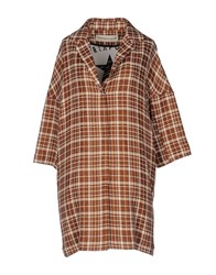 Shirtaporter Overcoats Brown