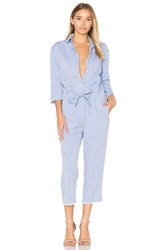 Dl1961 Watermill Jumpsuit Blue