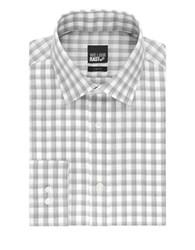 William Rast Checkered Plaid Button Down Shirt Grey