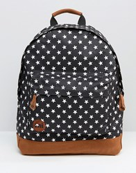 Mi Pac Polka Dot Backpack Black Polka