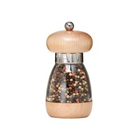 William Bounds Mushroom Pepper Mill Natural