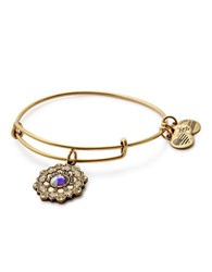 Alex And Ani Mother Of The Bride Expandable Wire Bracelet Yellow
