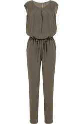 Woolrich Fluid Jumpsuit Green