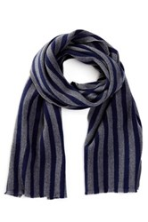 Gant R. Brushed Wool Scarf Gray