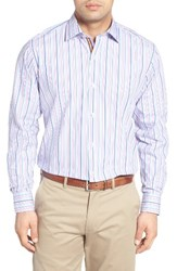 Tailorbyrd Men's Big And Tall Holly Stripe Sport Shirt