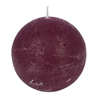 Amara Rustic Spherical Candle Grape