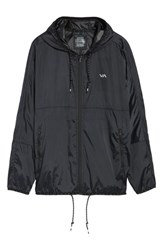 Rvca 'S Hexstop Ii Water Repellent Hooded Jacket